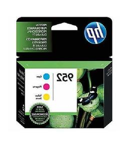 HP 952 Cyan Magenta & Yellow Ink Cartridges, 3 pack Exp - 6/