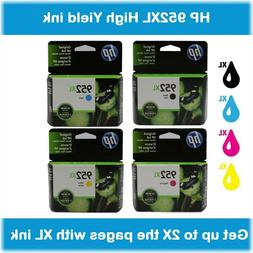 HP 952XL High Yield Single or Multi-Pack Ink Cartridges, Ret