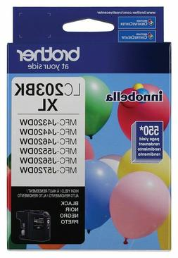 Brother Genuine High Yield Black Ink Cartridge, LC203BK, Rep