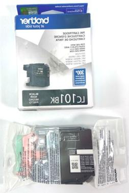 Brother Genuine Standard Yield Black Ink Cartridge, LC101BK,