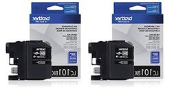 Brother LC-101BK Ink Cartridge Black , 2-Pack in retail pack