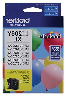 Brother Printer LC203Y High Yield Ink Cartridge, Yellow