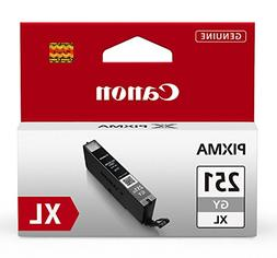 Canon CLI-251XL Gray Ink Tank, Compatible to MG7520, MG7120,
