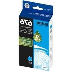 Epson DURABrite Ultra 676XL Ink Cartridge - Cyan. DURABRITE