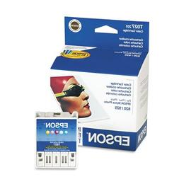 Epson® - T027201 Intellidge Ink, 220 Page-Yield, 5/Pack, As