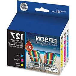 Epson T127520 Extra High Capacity Color Ink Cartridges, C/M/
