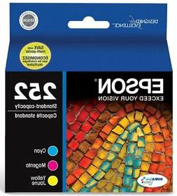 Epson T252520 DURABrite Ultra Color Combo Pack Standard Capa