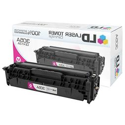 LD Compatible Toner Cartridge Replacement for HP 305A CE413A