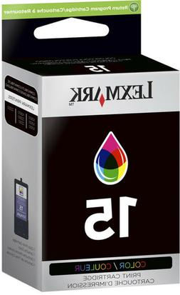Lexmark No 15 Color Return Program Print Cartridge