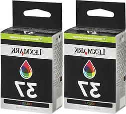 Lexmark No 37 Color Return Prog Print Cartridge