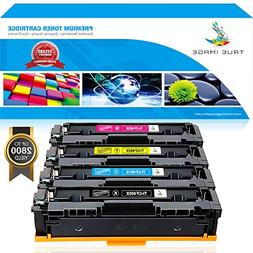 True Image 4Pack 201X Compatible for HP 201A CF400A 201X CF4