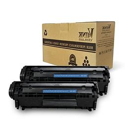 V4INK 2-Pack Compatible FX-10 FX-9 104 Toner Cartridge for C