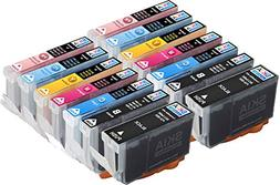 Skia 12 Pack BCI6 Replacement Ink Cartridges for Canon BJC-8