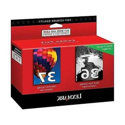 Lexmark Black 36 Color 37 Ink Cartridges for Z2420 X6675 X66