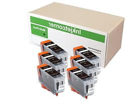 Inkjetcorner 6 Pack Big Black Compatible Ink Cartridges Repl