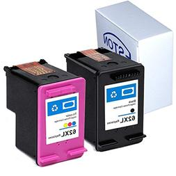 ESTON Remanufactured Ink Cartridge Replacement for HP 62XL