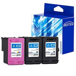 ESTON Re-Manufactured Ink Cartridge Replacement for HP 61XL