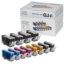 Canon PGI220 & CLI221 Compatible Set of 12 Ink Cartridges: 4