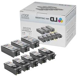 Canon Pixma iP100 Compatible Set of 8 Ink Cartridges: 5 Blac
