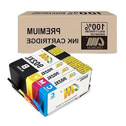 CMCMCM Remanufactured Ink Cartridges for HP 902XL 902 XL Wor
