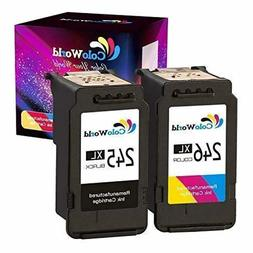 ColoWorld Remanufactured Ink Cartridge Replacement for PG245
