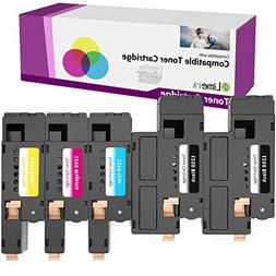 Limeink 5 Pack Compatible High Yield Toner Cartridges Replac