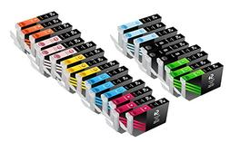 Sherman Inks and Toner Cartridges ® 24 Pack Compatible Cano
