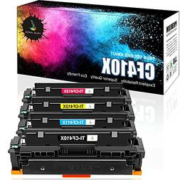 True Image 4Packs Compatible Replacement for HP 410X Toner 4