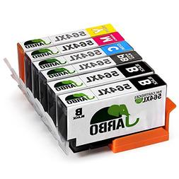 JARBO 5 Color Compatible Ink Cartridge for HP 564 High Yiled