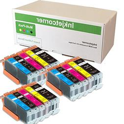 Inkjetcorner 15 Pack Compatible Ink Cartridges Replacement f