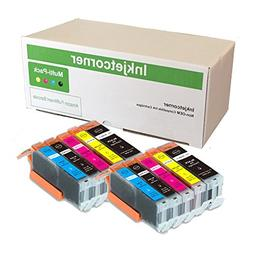 Inkjetcorner 10 Pack Compatible Ink Cartridges Replacement f