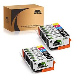 JARBO 5 Color Compatible Replacement for HP 564XL Ink Cartri