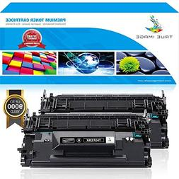 TRUE IMAGE Compatible Toner Cartridge Replacement for HP CC3