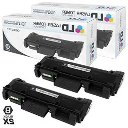 Compatible Xerox 106R02777 2PK HY Black Toner Cartridges for
