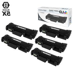 Compatible Xerox 106R02777 5PK HY Black Toner Cartridges for