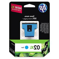 HP 02XL Cyan High Yield Original Ink Cartridge