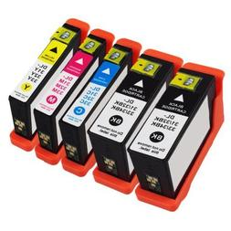 5 Pack Dell Series 31XL New High Capacity Compatible Ink Car