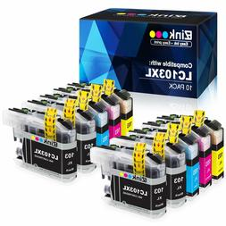 E-Z Ink Compatible Ink Cartridge Replacement-4 Black,2 Cyan,