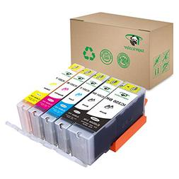 Supricolor 5 Piece Edible Ink Cartridge Replacement for PGI-