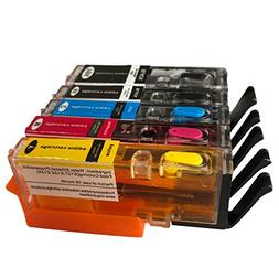 5PK refillable Edible Ink cartridges PGI-250 CLI-251 PGI250