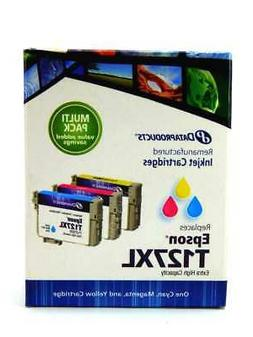 Dataproducts Epson T127XL Remanufactured Ink Cartridges Mult