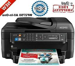 epson wf 2750 all in one wireless color printer scanner copi