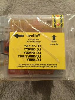 Generic 10 pk Ink Cartridges for Brother Blk CYM LC11/16y LC