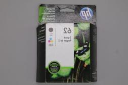 Genuine HP 62 Black and Tri-Color Combo Cartridges
