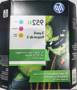 HP Genuine 952XL Ink Cartridges EXP 11-2020 Cyan Magenta Yel