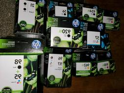 genuine ink cartridges new factory sealed not
