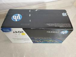 Genuine HP Laserjet 504A Yellow Toner Cartridge  CE252A - Pr