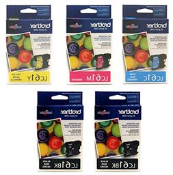 Brother LC-61 Ink Cartridge Set of Cyan,Magenta, Yellow - 1