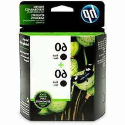 HEWCZ071FN - HP 60 2-pack Black Original Ink Cartridges