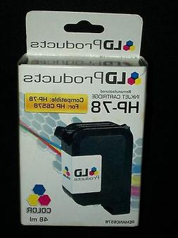 LD Products HP-78 Color Printer Cartridge HP C6578 Exp 4/200